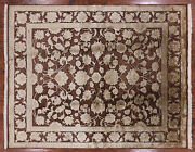 8and039 0 X 10and039 0 Hand Knotted Wool And Silk Rug - H1153
