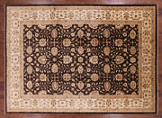 9and039 10 X 13and039 10 Peshawar Hand Knotted Wool Rug - H9422