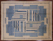 8' 3 X 10' 7 Gabbeh Hand Knotted Wool Rug - W2275