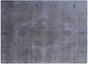 Hand Knotted Traditional Overdyed 9' 6 X 12' 10 Rug - W2564