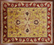 Peshawar Hand Knotted Area Rug 8and039 0 X 9and039 10 - P2607