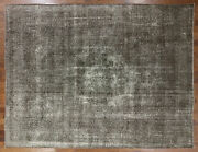 9and039 10 X 12and039 4 Hand Knotted Overdyed Wool Area Rug - P3389