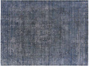 8and039 6 X 11and039 0 Overdyed Hand Knotted Area Rug - P3841