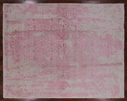 8and039 1 X 10and039 2 Hand Knotted Wool And Silk Rug - P8685