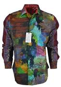 New Robert Graham Rileyand039s Dream Embroidered Classic Fit Limited Edition Shirt