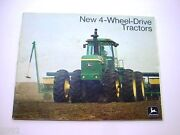 John Deere 8430 And 8630 Farm Tractor Brochure 48 Pages