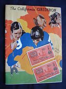 1934 St. Mary's At California 1934 College Football Program And 2 Tickets