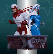 Dc Direct__hawk And Dove Mini Busts_limited Edition_ 511 And 558 Of 1500_mibs