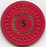 The Shack -state Line Nev - Tahoe - 5 Chip - 1975