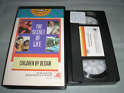 The Secret Of Life Children By Design - 1993 Wgbh Ffh 4336 Vhs Video Tape Rare