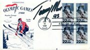 Authentic Olmpic Skier Tommy Moe Signed Fdc