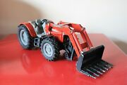 Siku 9andrdquo Massey Ferguson 894 Red Tractor Toy Model Farm With Front Loader Germany