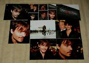 Johnny Depp Hand Signed Autographed 10x8 Inch Photo + Seven Photos Proofs