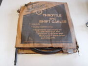 Vintage Nos Quicksilver Throttle/shift Cable 34555a-58and039