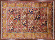 8and039 1 X 10and039 8 William Morris Hand Knotted Wool Rug - W1676