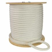 Double Braid Polyester Cable Wire Pull Pulling Rope W/ 6 Spliced Eyes All Sizes