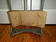 Custom Padded Back Pad Fits Tactical Tailor Malice / Alice Pack Frame Coyote