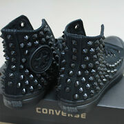 Genuine Converse All-star Chuck Taylor As Core Hi Studed Sneakers Sheos