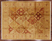 8and039 2 X 10and039 5 Hand Knotted Peshawar Wool Rug - H9578