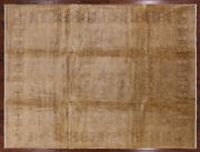 Chobi Peshawar Hand Knotted Wool Area Rug 9and039 0 X 11and039 10 - H9732
