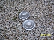 2 1968-1982 Original Chevy Rally Derby Center Caps Camaro Corvette