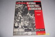 1966 67 Nba Guide Preview Los Angeles Lakers Elgin Baylor 256 Pages 1965-66 Stat