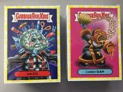 2018 Garbage Pail Kids Oh The Horror-ible Set Yellow Phlegm All 200 Cards
