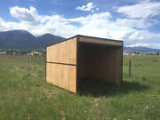 Storage Shed Frame Kit 10x10 Easy To Assemble And Portable