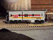 2 Athearn And039customand039 Ho Family Lines Scl/landn Bw And Wv Cabooses- Nice