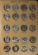 Uncirculated Set Kennedy Halves 1964-1996 -includes Clad Proof And Modern Silver