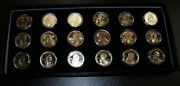 Sacagawea Dollar Coin Set First P D And S Commemorative Mint 1 2000-2005 18 Pc