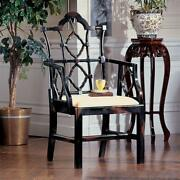 Design Toscano Chinese Chippendale Chair Set Of Two