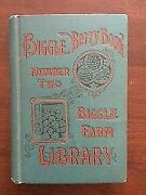 Antique 1894 Biggle Berry Book Number 2 Biggle Farm Library