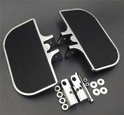 Chrome Mini Rear Footboards Footpegs Mounts Fit For H-d Electra Glide Heritage