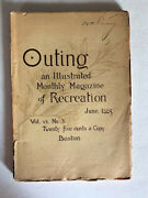 Outing An Illustrated Monthly Magazine Of Recreation June 1885