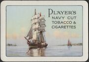 Playing Cards Single Card Old Wide Players Cigarettes And Tobacco Advertising Art
