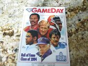 Pro Football Hall Of Fame 1994 Yearbook - Signed By All Players