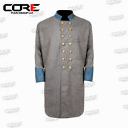 Us Civil War Confederate Officer's Infantry Double Breast Frock Coat All Sizes.