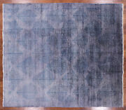 8and039 1 X 9and039 4 Gabbeh Overdyed Full Pile Wool Area Rug - P9971