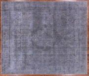 9and039 7 X 11and039 0 Overdyed Hand Knotted Wool Area Rug - P9410