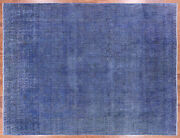 Overdyed Hand Knotted Area Rug 9' 6 X 12' 6 - P9412