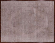 Overdyed Handmade Wool Area Rug 9and039 10 X 12and039 7 - P9403