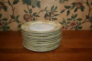 12-vintage Meito China Salad Plates Hand Painted -made In Japan Circa 1930and039s