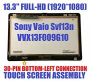 Laptop Lcd Screen For Sony Vaio Flip 13 Svf13 13.3 Full-hd Touch Digitizer