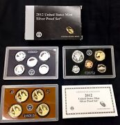 2012 United States Mint 14 Coin Silver Proof Set