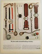 1967 Print Ad Caravelle Wrist Watches Many Varieties Division Of Bulova