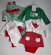 Just One You Carters Christmas 2 Piece Sets Choose Style / Size
