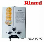 Rinnai Reu-5cfc Lpg Gas Tankless Water Heater For Home And Rv