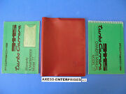 1977 Porsche 911 S 930 Turbo Carrera Coupe Owner Manual Operator Books Pack D129