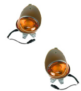 Dodge Challenger Parking Lamp Amber Set Left And Right 1970-1974